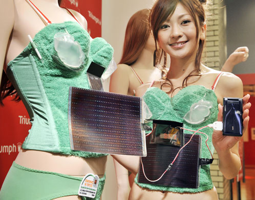Photovoltaic-Powered Bra by Triumph International